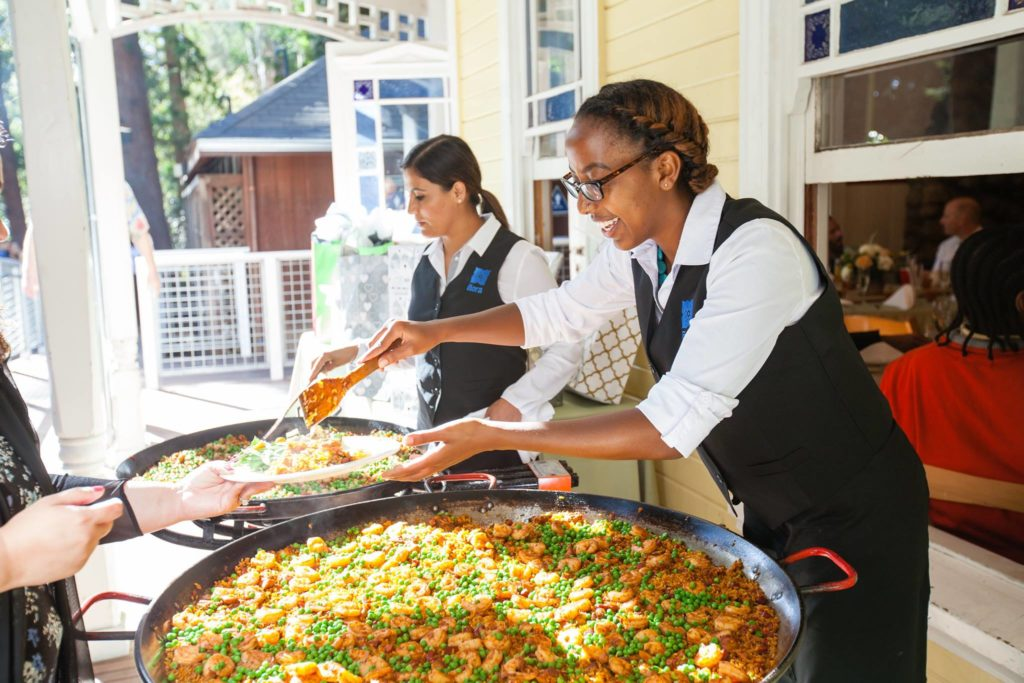 Paella event catering